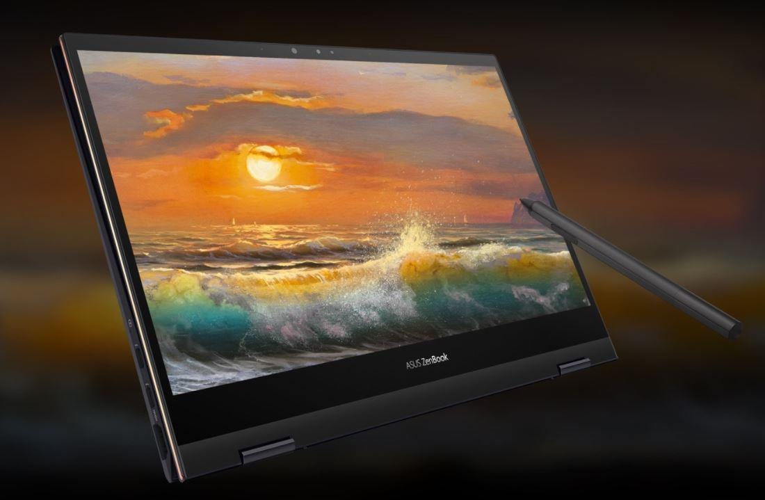 Asus Zenbook Flip S UX371EA HL701TS, Ultrabook Hybrid Premium Mewah dengan Layar OLED 4K