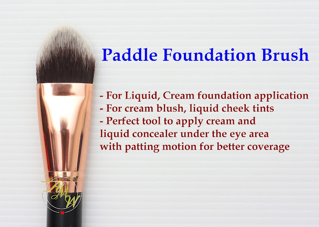 a photo of Riot Paddle Foundation Brush