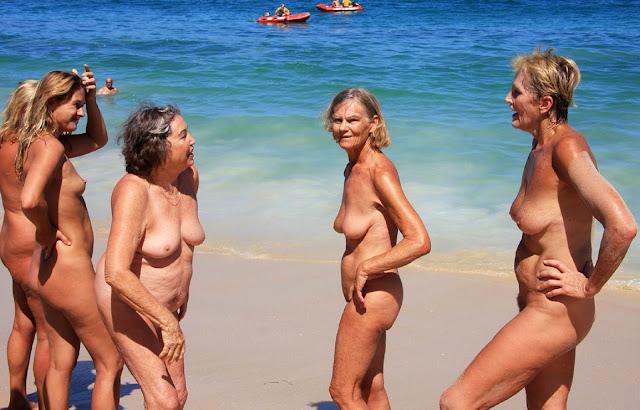 Nude Beach Olympics