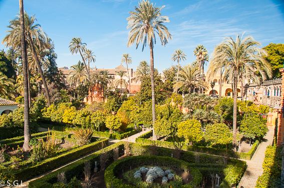 Jardines de los Reales Alcázares. 10 visitas imprescindibles de Sevilla