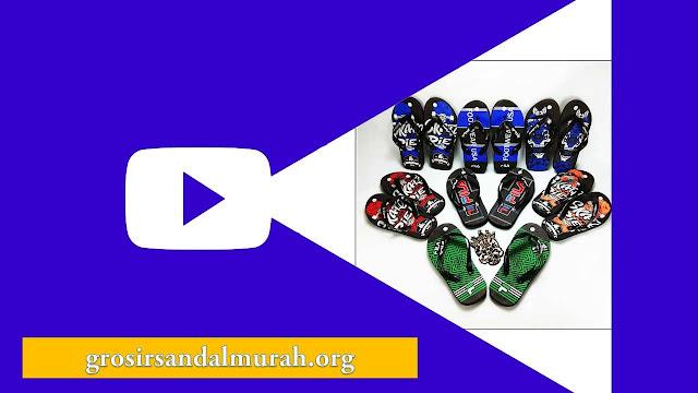 Grosirsandalmurah.org - Sandal Anak TG - CMR Spon TG