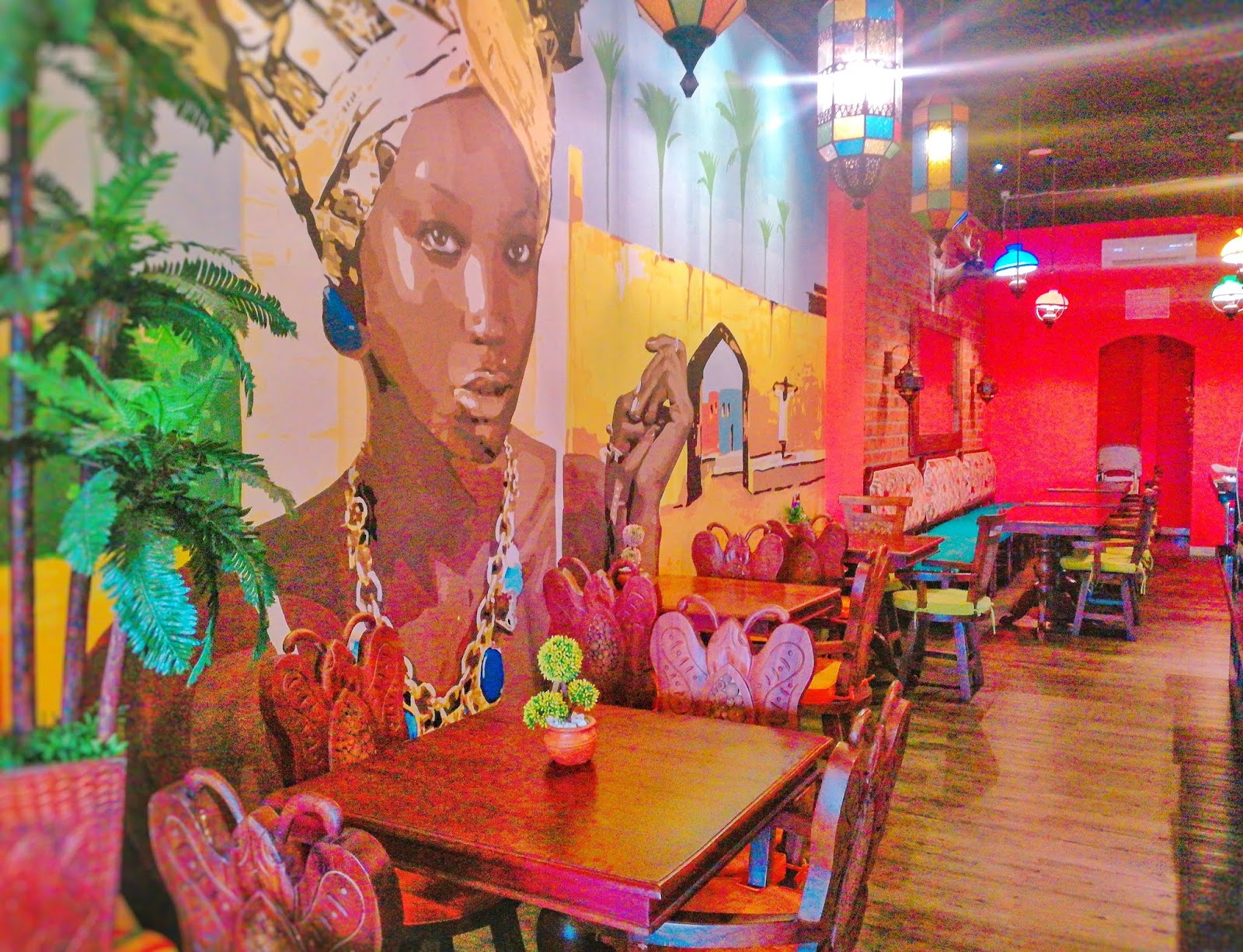 NUBIAN CAFE AND RESTO GREEN LAKE CITY