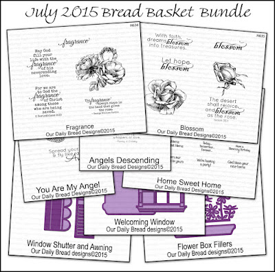 Our Daily Bread Designs July 2015 Bread Basket Bundle