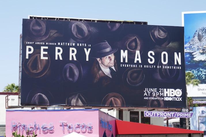 Perry Mason series premiere billboard