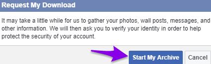 Cara Mencadangkan Akun Twitter dan Facebook Anda 10