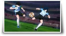 par Captain Tsubasa : Rise of New Champions mode Online 2 vs 2
