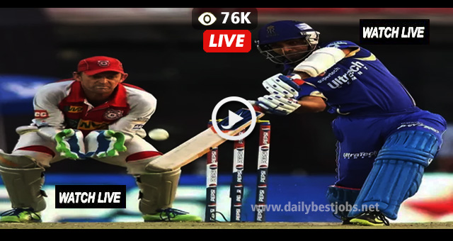 IPL 2018 RR vs KXIP Live Streaming Cricket Score Online