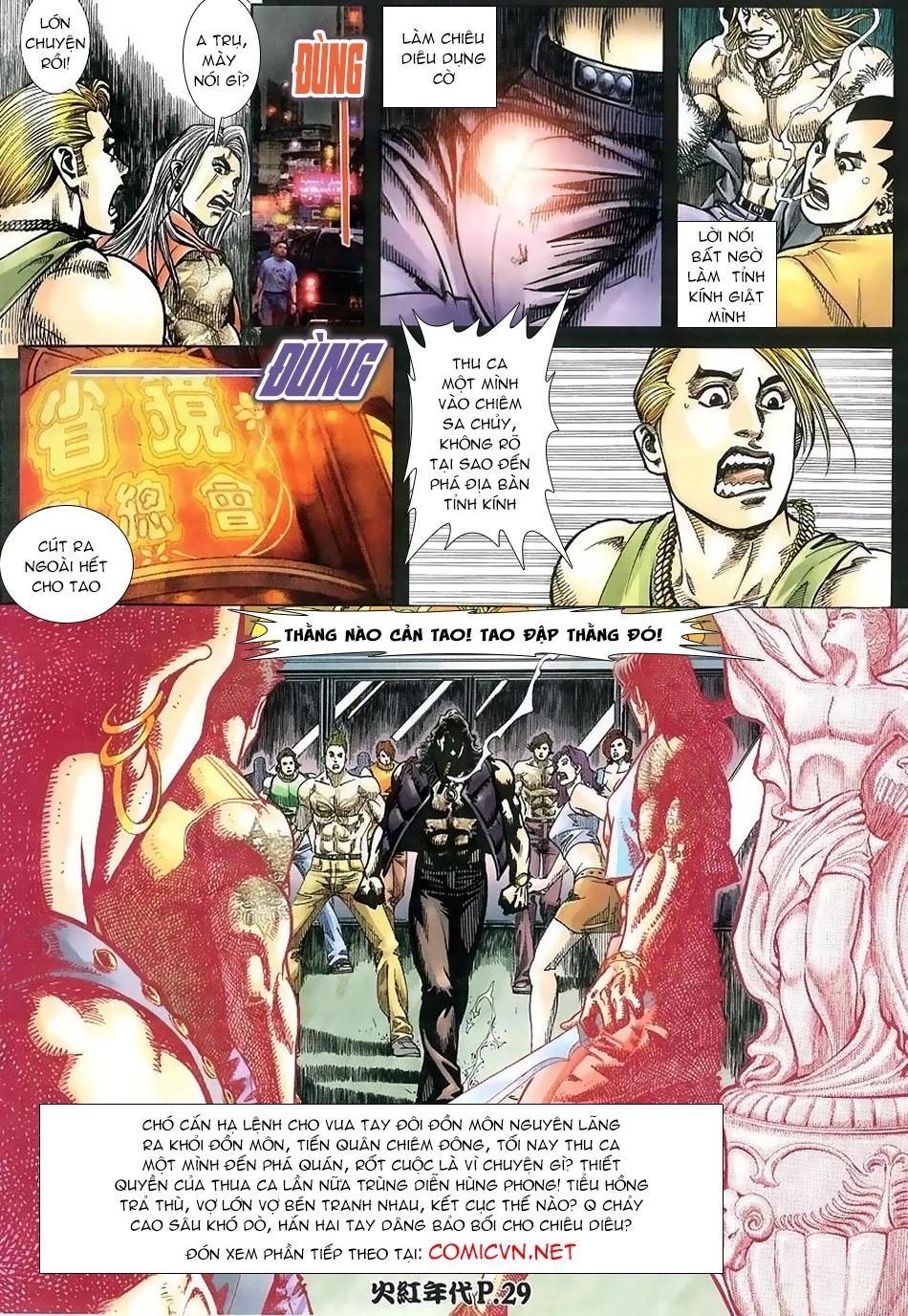 Hỏa Hồng Niên Đại Hắc Cốt Đường chap 112 - Trang 27