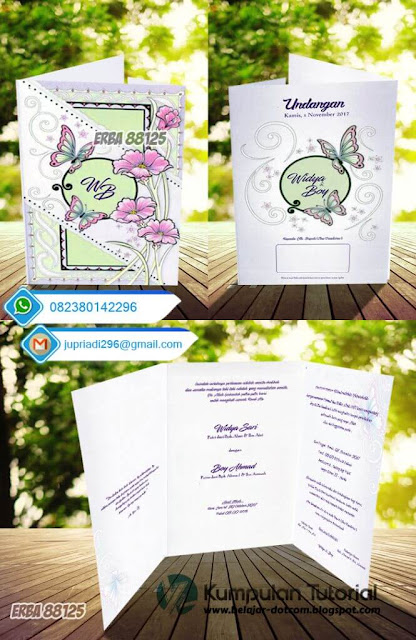 Template Undangan ERBA 88125 Download Gratis! - ERBA 88125