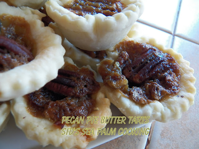Pecan Pie Butter Tarts