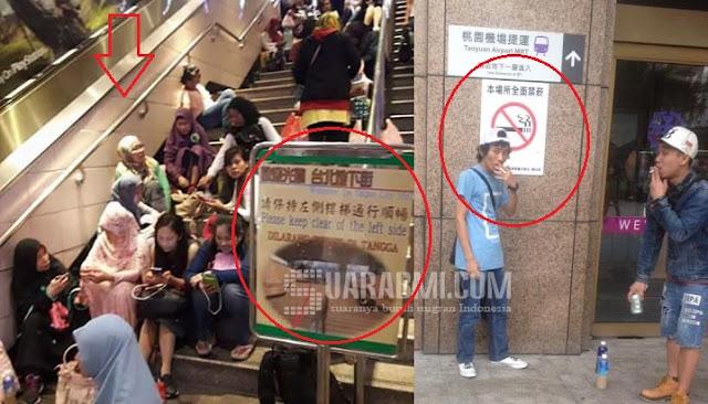 Viral Foto Ini di Kalangan BMI Taiwan