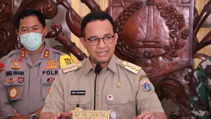 Anies Terbitkan Pergub, Warga Jakarta Dilarang Keluar Jabodetabek