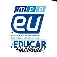 Logo Ministerio de Educación Universitaria