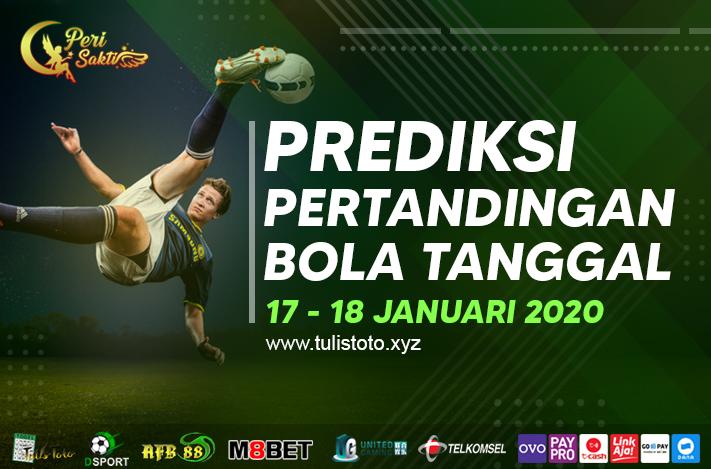 PREDIKSI BOLA TANGGAL 17 – 18 JANUARI 2021