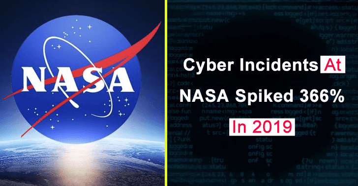 Cyber Attack on NASA Spiked 366% in 2019