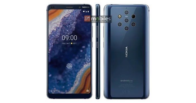 New render of Nokia 9 PureView leaked