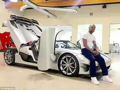 Mayweather puts his $4.8million supercar on the market
