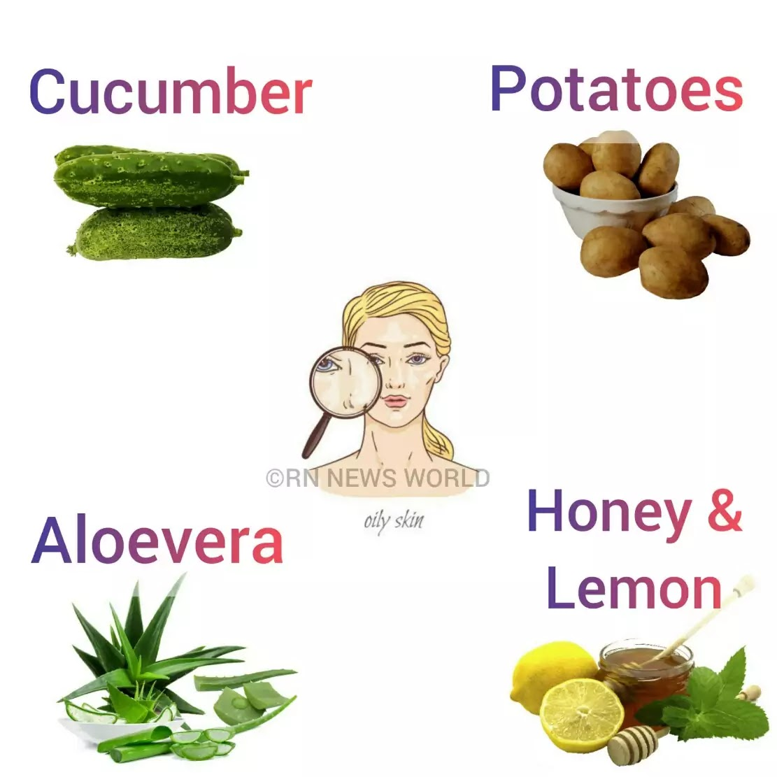 Oily Skin Care In Summer Season Home Remedies