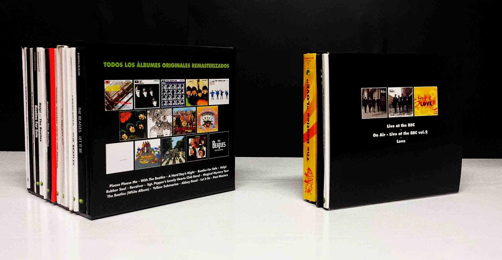 the daily beatle spanish beatles boxed set. Black Bedroom Furniture Sets. Home Design Ideas