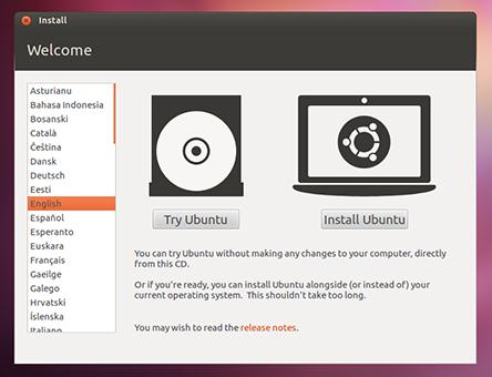 Menginstal Linux Pertama