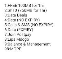 Safaricom free data