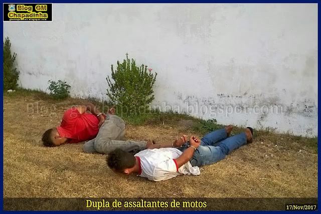 Guarda Municipal prende dupla minutos após tomarem moto de assalto em Chapadinha