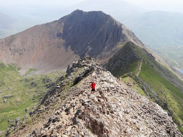 Mount Snowdon Horsehoe walk, via crib Goch Route, Pyg Track, 3 peaks