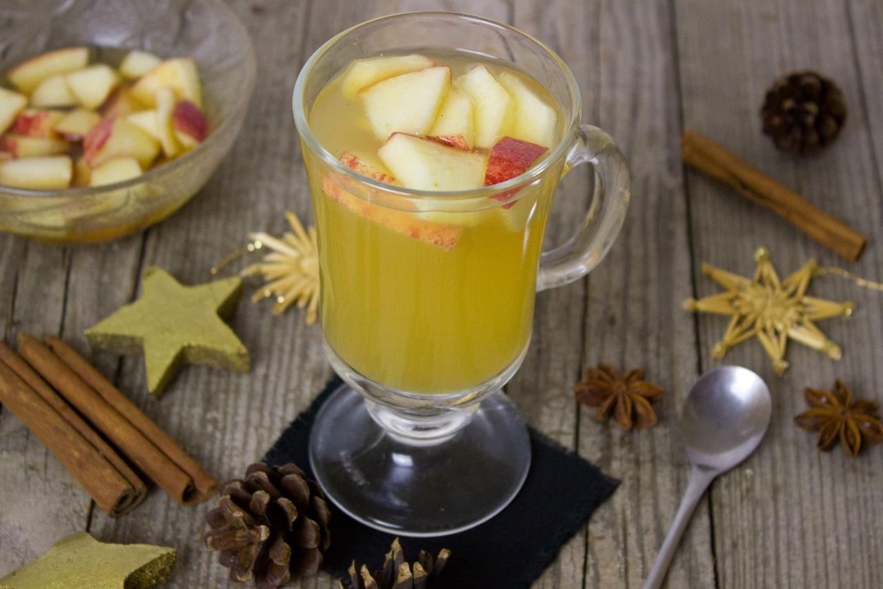 Bebidas e coquetéis com suco de maçã