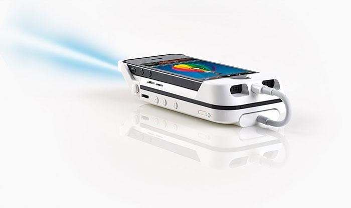 Máy chiếu dành cho iPhone 4/4S