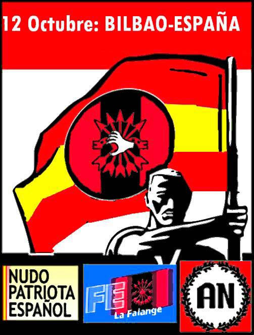 Cuenca Nacional Revolucionaria: 12 de Octubre en Bilbao-España