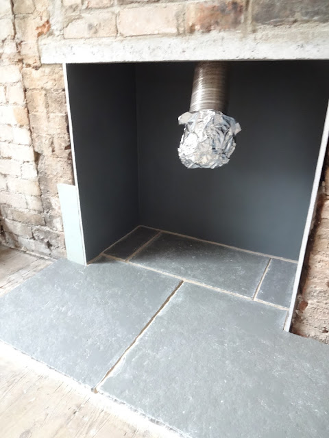 cathedral grey limestone hearth