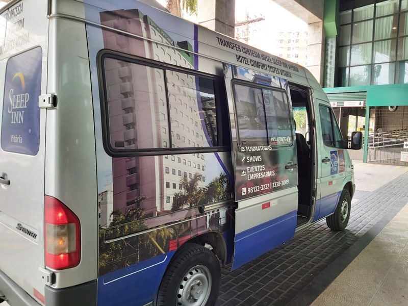 Transfer aeroporto hotel Vitória