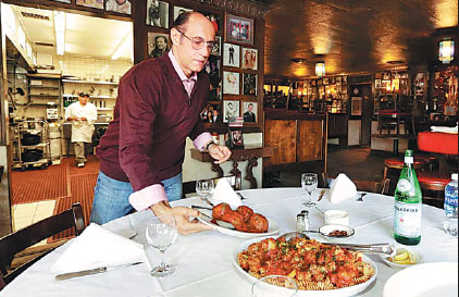 Rao's cookbook serves up spicy anecdotes with the meatballs