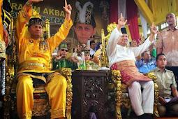 Sambutan Hangat Kesultanan dan Warga Pontianak Dukung Capres No 2