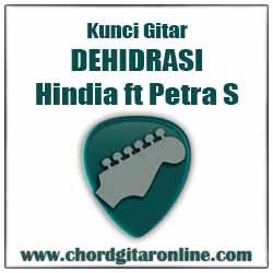 Kunci Gitar Dehidrasi Hindia feat. Petra Sihombing