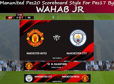 MUTD Scoreboard PES20 Style For PES17 by Wahab Jr