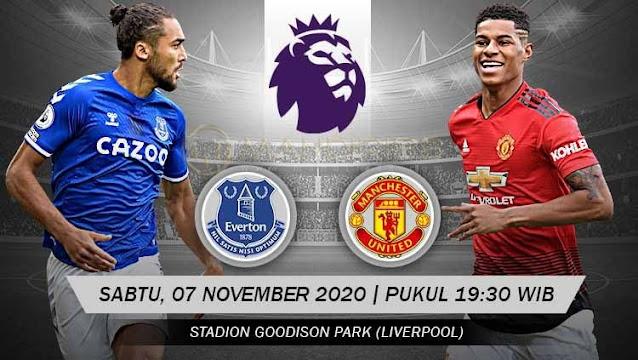 Prediksi Everton Vs Manchester United, Sabtu 07 November 2020 Pukul 19.30 WIB @ Mola TV