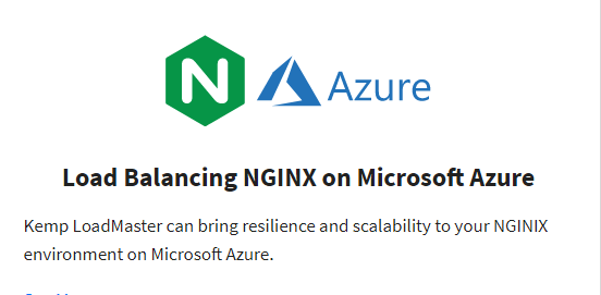 Raed More Load Balancing NGINX on Microsoft Azure
