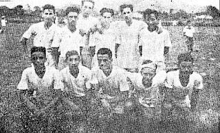 Olímpico Esporte Clube, Vila Velha, ES, 1947. Revista Sport Ilustrado.