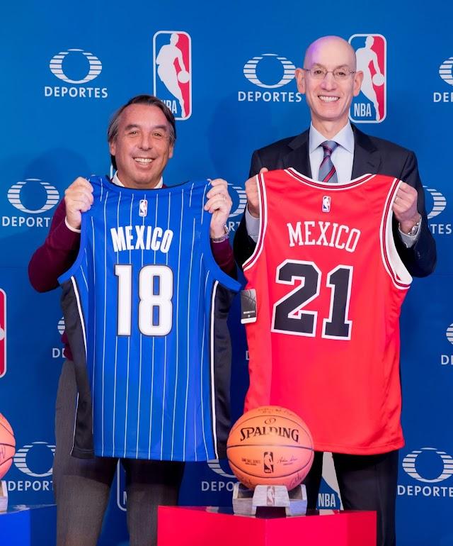 Renueva acuerdo Televisa y NBA