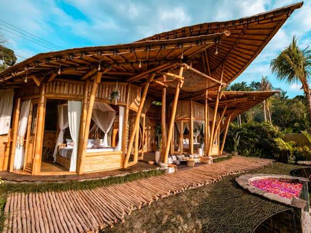 Inspirasi Desain Rumah Bambu Tradisional, Modern, dan Semi ...