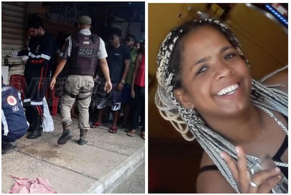 Barreiras-BA: Mulher é morta com tiros na cabeça em Bar na feira livre