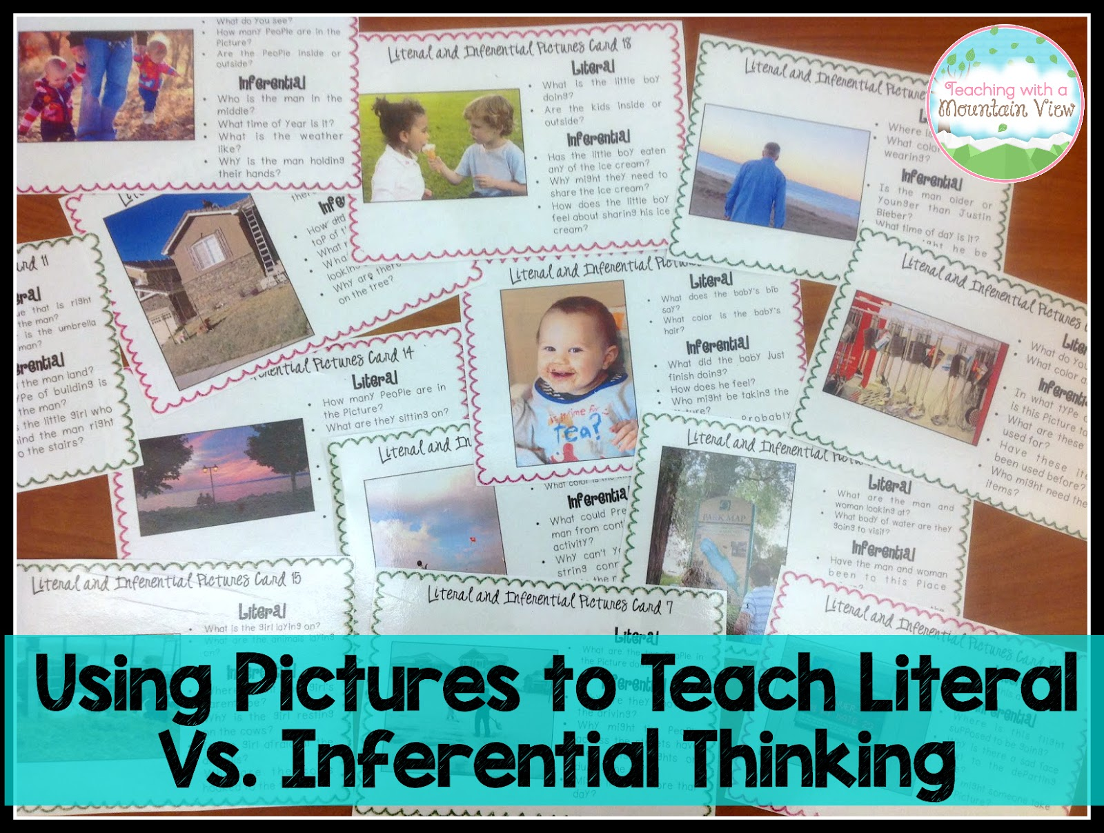 Teaching With A Mountain View Literal Vs Inferential