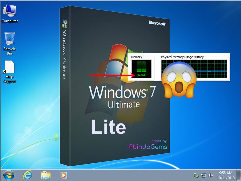 Windows 7 Lite 64Bit Support UEFI