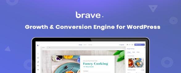Brave v0.4.2 - Drag n Drop WordPress Popup Optin Lead Gen / Survey Builder