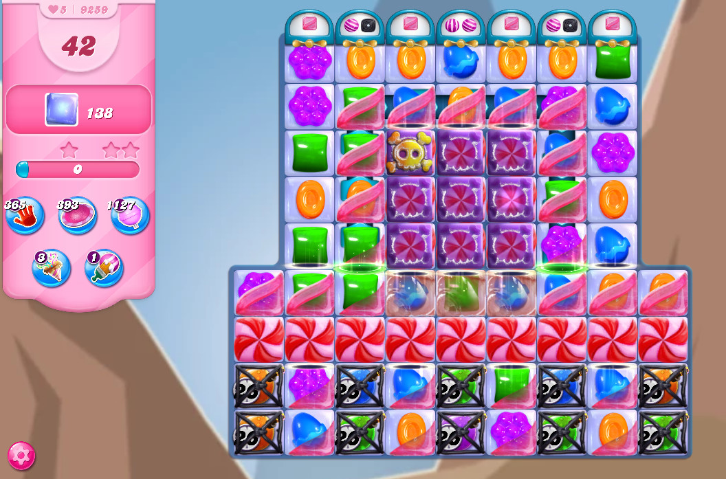 Candy Crush Saga level 8259