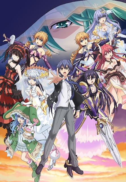 Anime Date A Live III tendrá 12 episodios