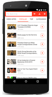 SnapTube – YouTube Downloader HD Video Beta v4.51.1.4510901 Latest APK is Here !