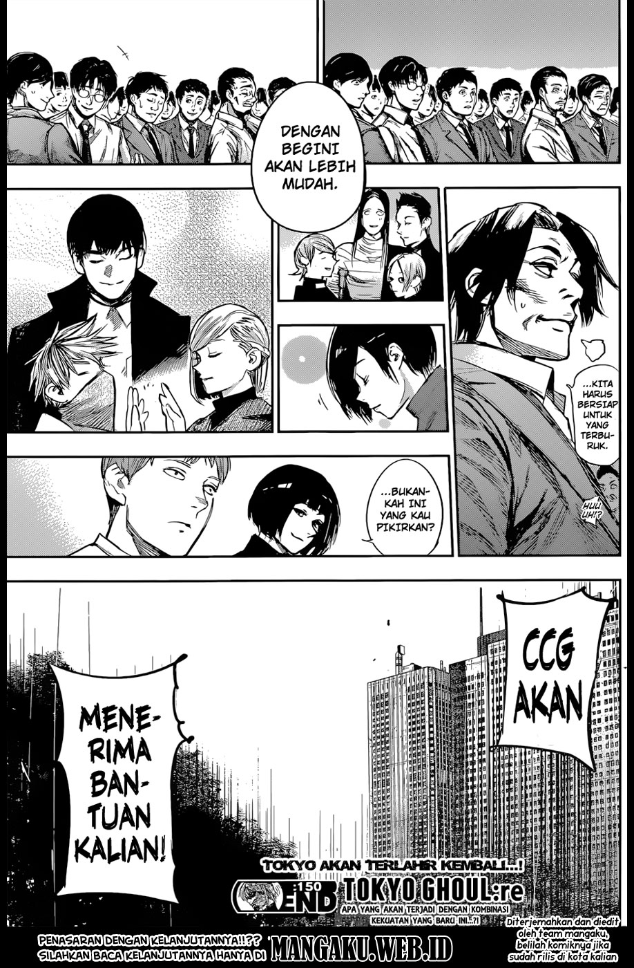 Tokyo Ghoul:re Chapter 150