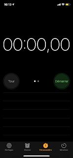 Chronomètre pour l'escape game
